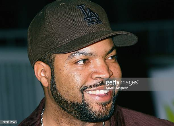 Show executive producer actor Ice Cube attends the premiere screening of FX Networks' new documentary series BlackWhite at Twentieth Century Fox...