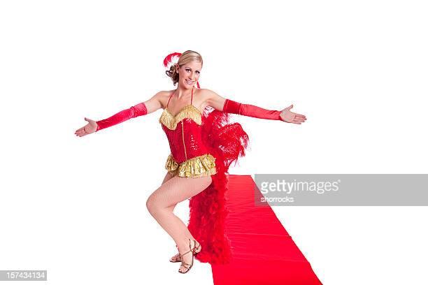 Show Girl on Red Carpet