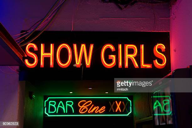 show girls - red light district stock photos and pictures