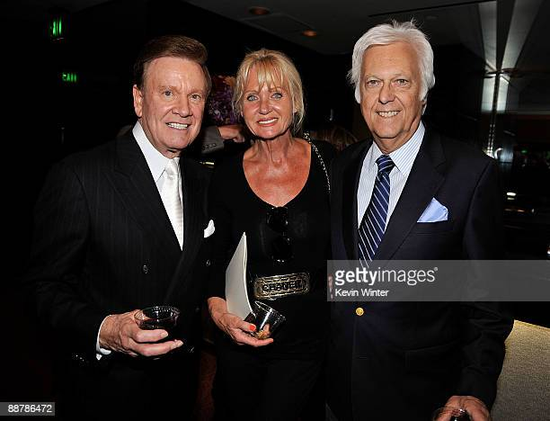 TV show host Wink Martindale Eleonora and her husband singer Jack Jones attend Ed McMahon's memorial service hosted by NBC held at the Academy of...