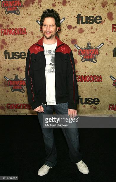 Show host/Actor Jamie Kennedy attends the fuse Fangoria Chainsaw Awards at the Orpheum Theater on October 15 2006 in Los Angeles California The...
