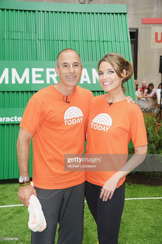 """Summer Camp"" Competition With NBC's ""Today"" Team"