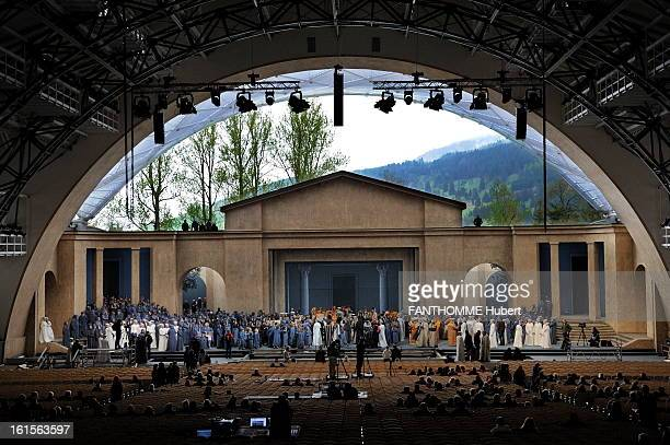 Oberammergau Passion Play Since 1634 the village of Oberammergau in Bavaria replays every ten years the Passion of Christ in front of hundreds of...