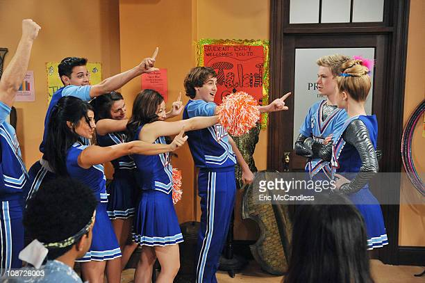 UP Show It Up Rocky and CeCe team up with Gunther and Tinka to take down the reigning high school talent show champs overly peppy cheerleaders Candy...
