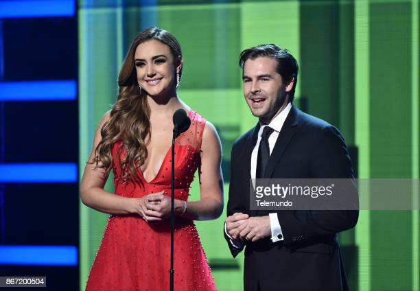 AWARDS 'Show' Pictured Ana Belena Julio Vaqueiro at the Dolby Theatre in Hollywood CA on October 26 2017