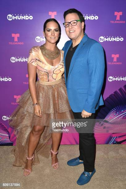 MUNDO 2017 'Show' Pictured Ana Lorena Sanchez and Ana Lorena Sanchez backstage during the 2017 Premios Tu Mundo at the American Airlines Arena in...