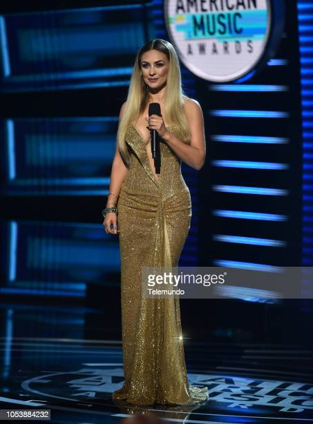 AWARDS 'Show' Pictured Aracely Arambula at the Dolby Theatre in Hollywood CA on October 25 2018