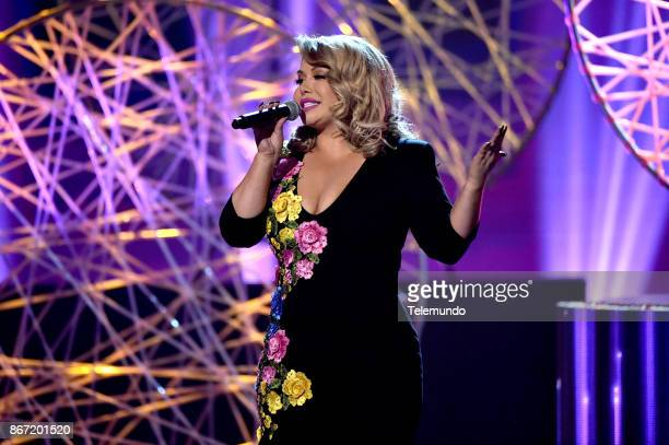 AWARDS 'Show' Pictured Chiquis Rivera at the Dolby Theatre in Hollywood CA on October 26 2017