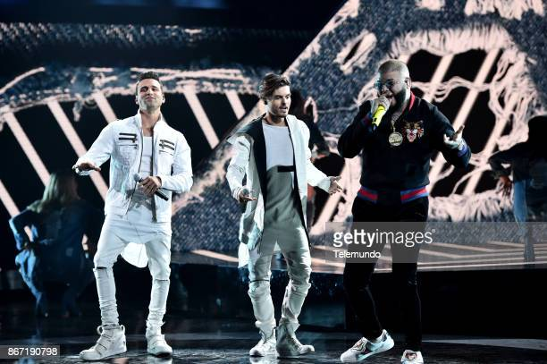 AWARDS 'Show' Pictured Christian Daniel Abraham Mateo Farruko at the Dolby Theatre in Hollywood CA on October 26 2017