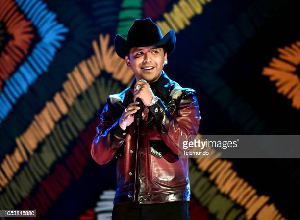 AWARDS Show Pictured Christian Nodal at the Dolby Theatre in Hollywood CA on October 25 2018