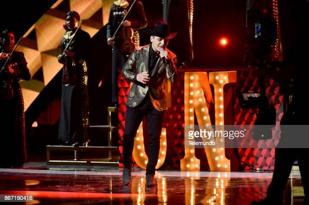 AWARDS Show Pictured Christian Nodal at the Dolby Theatre in Hollywood CA on October 26 2017