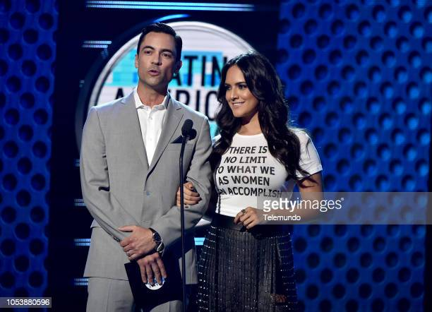 AWARDS 'Show' Pictured Danny Pino and Ana Lorena Sanchez at the Dolby Theatre in Hollywood CA on October 25 2018