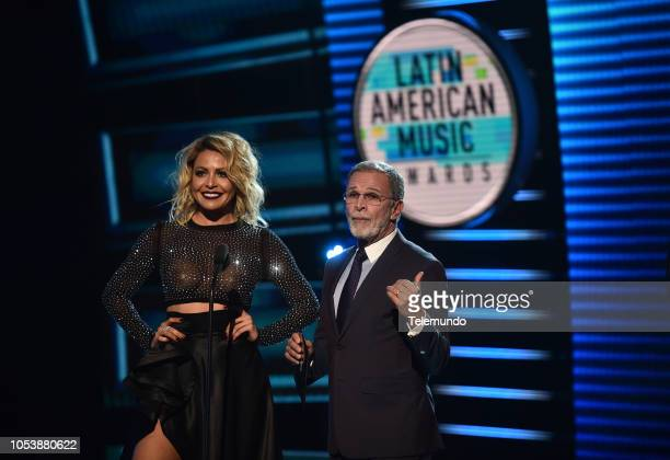 AWARDS Show Pictured Dayana Garroz and Tony Plana at the Dolby Theatre in Hollywood CA on October 25 2018