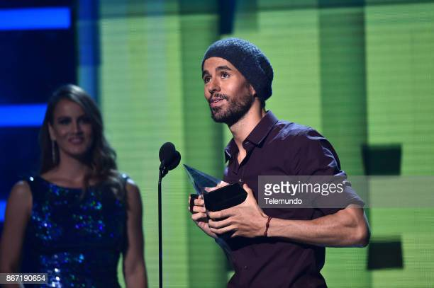 AWARDS Show Pictured Enrique Iglesias at the Dolby Theatre in Hollywood CA on October 26 2017