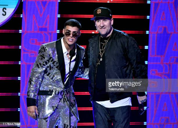 AWARDS Show Pictured Lunay and Snow performs at the Dolby Theatre in Hollywood CA on October 17 2019