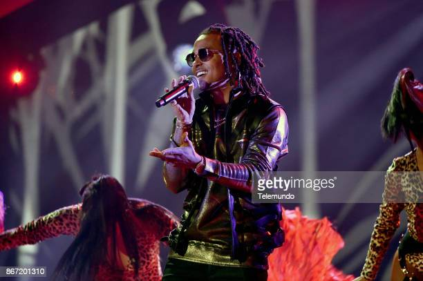 AWARDS 'Show' Pictured Ozuna Wisin at the Dolby Theatre in Hollywood CA on October 26 2017