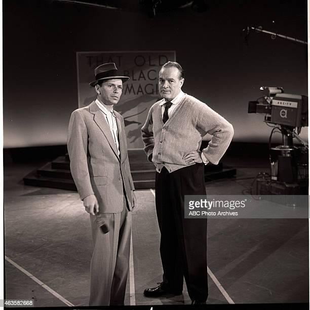 Show Premiere - Airdate: October 18, 1957. L-R: FRANK SINATRA;BOB HOPE