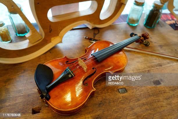 Show Room Consorzio Liutai'Antonio Stradivari' Liutai Consortium UNESCO Intangible Cultural Heritage of Humanity Piazza Stradivari 1 Cremona Lombardy...
