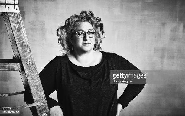 Show runner Jenji Kohan is photographed for The Hollywood Reporter on April 12 2017 in Los Angeles California