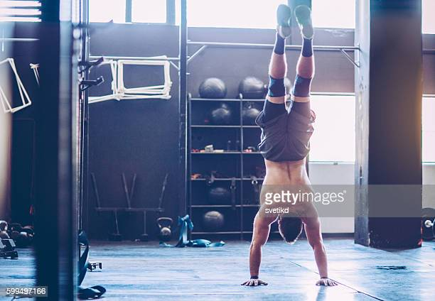 show up your skills - handstand stock pictures, royalty-free photos & images