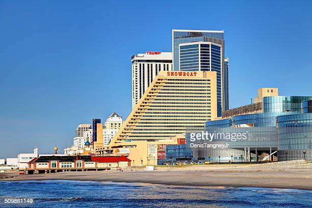 showboat casino atlantic city - atlantic city stock pictures, royalty-free photos & images