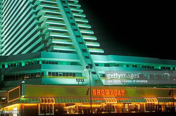 Showboat Casino on Boardwalk in Atlantic City NJ