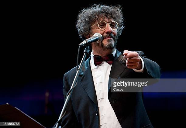 Showcase Argentine singer Fito Paez to present his new album called Music for Aliens at the room of City University Nezahualcoyotl on November 29...