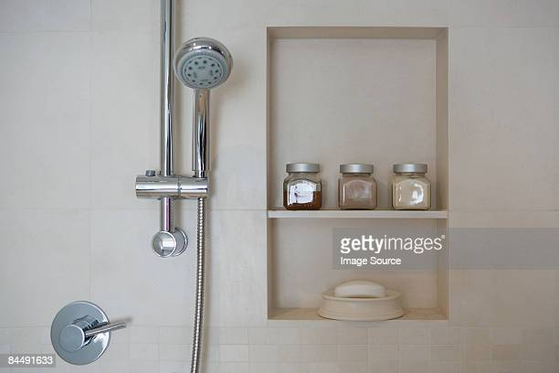 shower - toiletries stock pictures, royalty-free photos & images