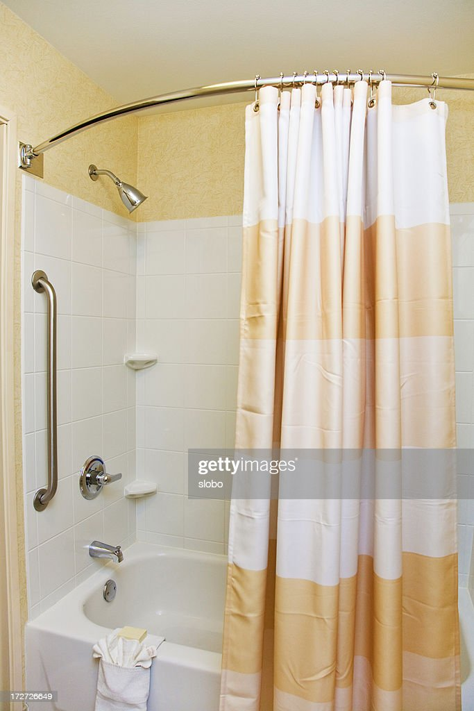 Delightful Shower With Curtain