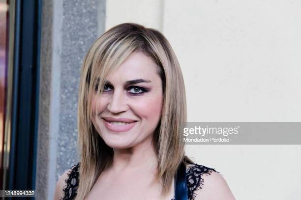 Showgirl Lory Del Santo at the Baume & Mercier event on June 23, 2011 in Milan, Italy.