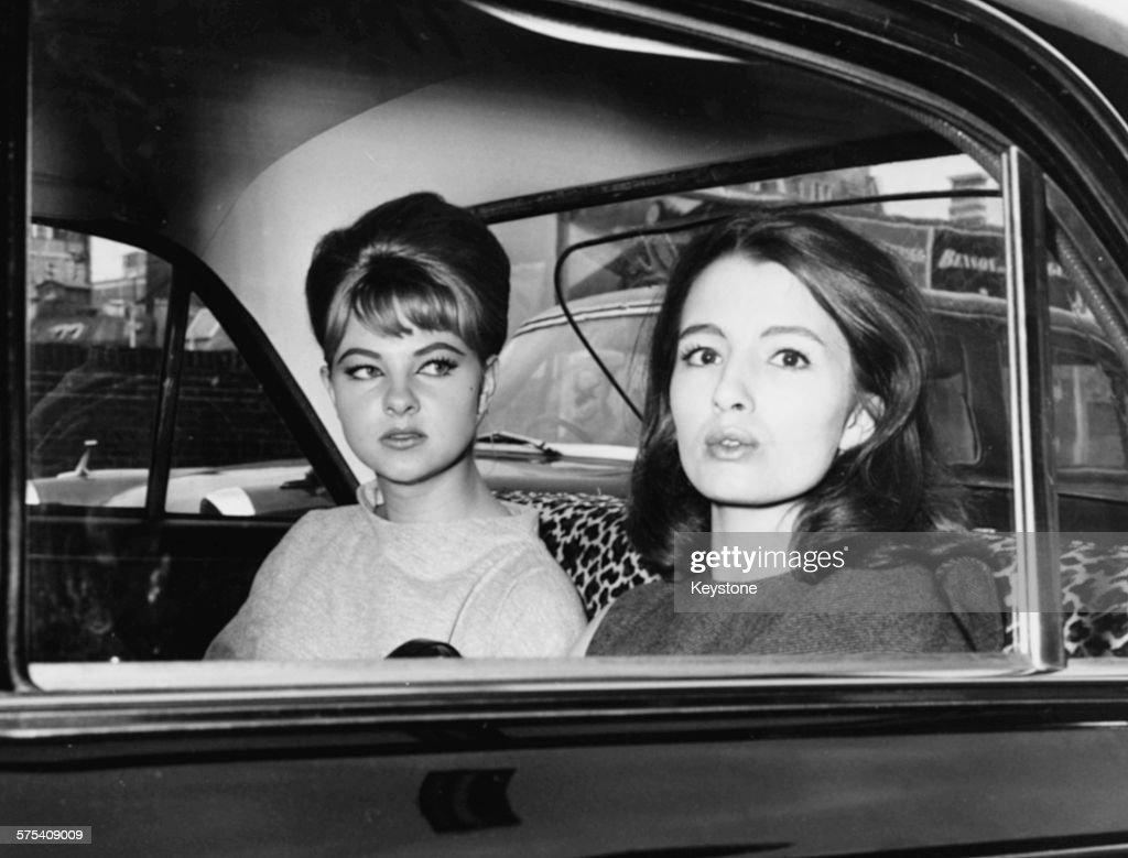 Mandy Rice-Davies And Christine Keeler : News Photo
