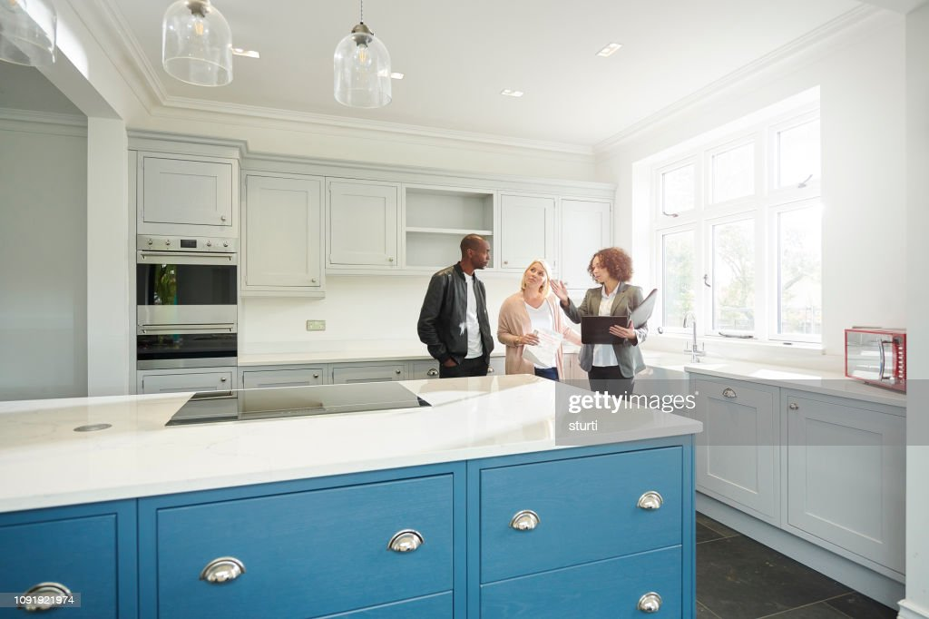 showhome viewing : Stock Photo