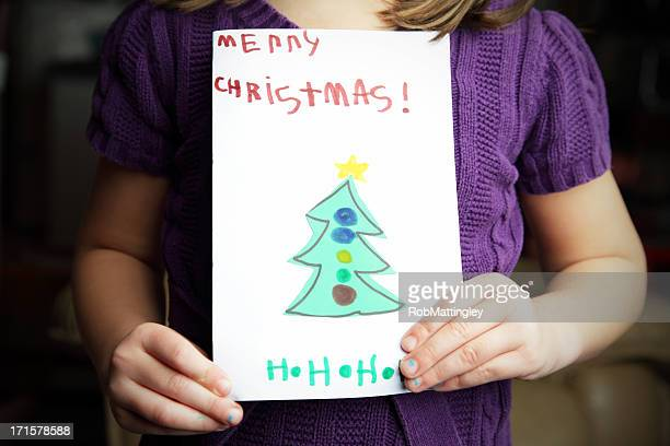 Showing Christmas Card