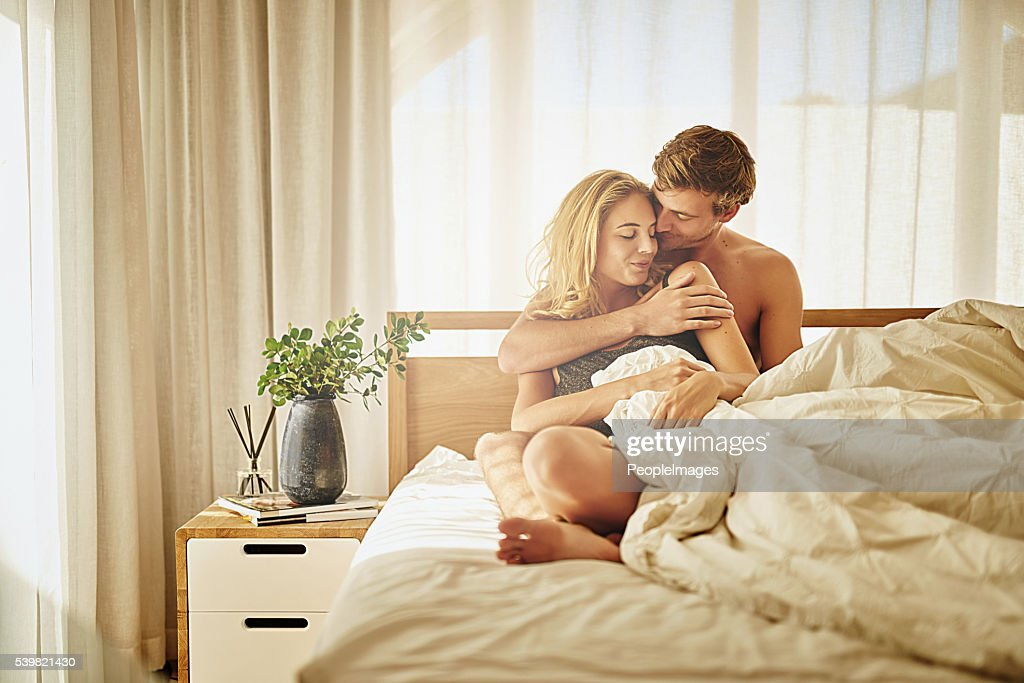 Showing her how much he loves her : Stock Photo