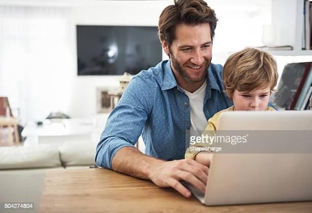 Lui la façon de l'internet