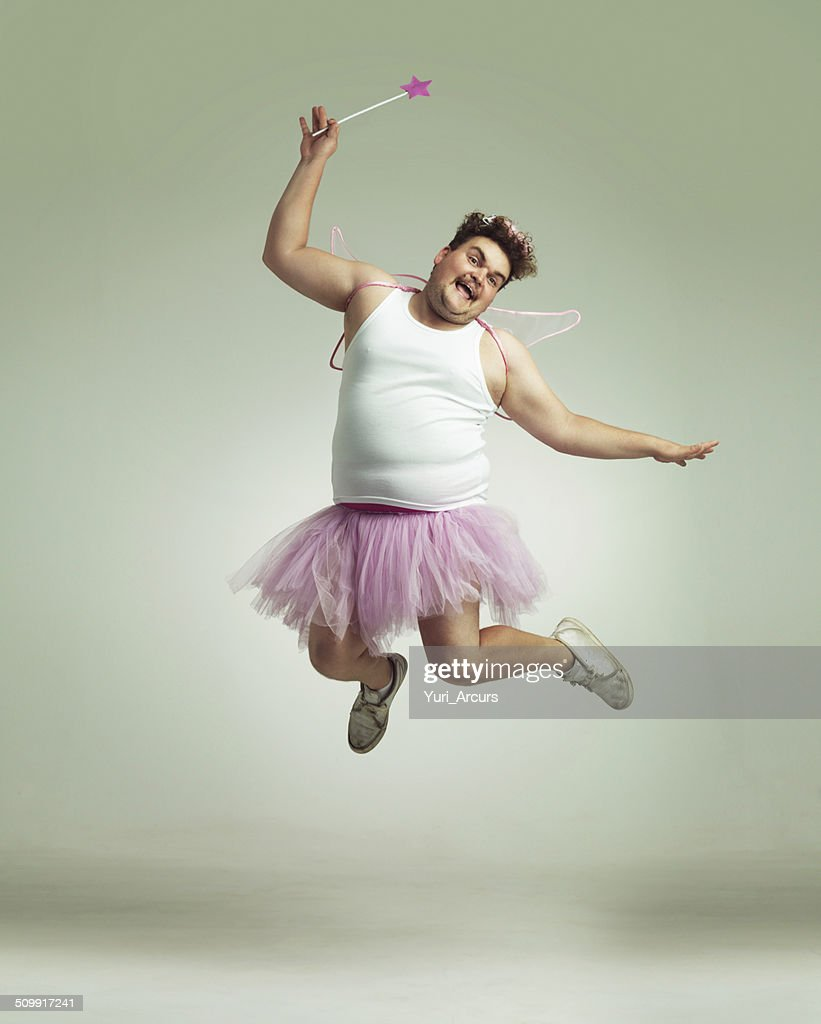 Showing his lighter side! : Stock Photo
