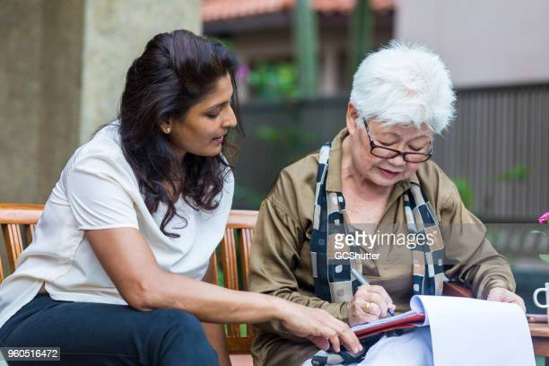 showing how to complete all the necessary documents - legislation stock photos and pictures