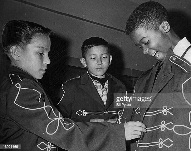 SEP 9 1966 SEP 12 1966 Showing Off Their New Band Uniforms Members of the Denver Youth Band received new uniforms and gathered in the auditorium at...