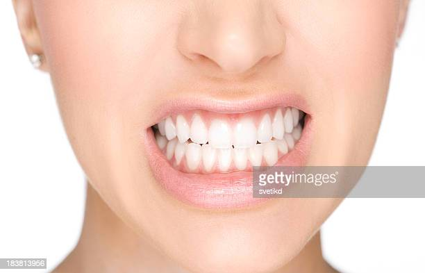 showing teeth - human teeth stock pictures, royalty-free photos & images