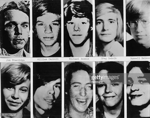 Shown are headshots of boys and young men whose bodies have been definitely identified as the victims of John Wayne Gacy Gacy is accused of the...