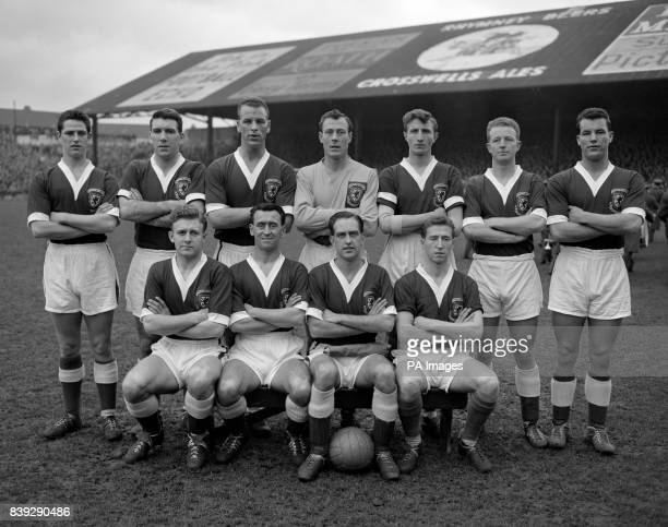 Shown here are the Welsh team who beat Israel by two goals to nil in the second leg of their World Cup eliminator at Ninian Park Cardiff on February...