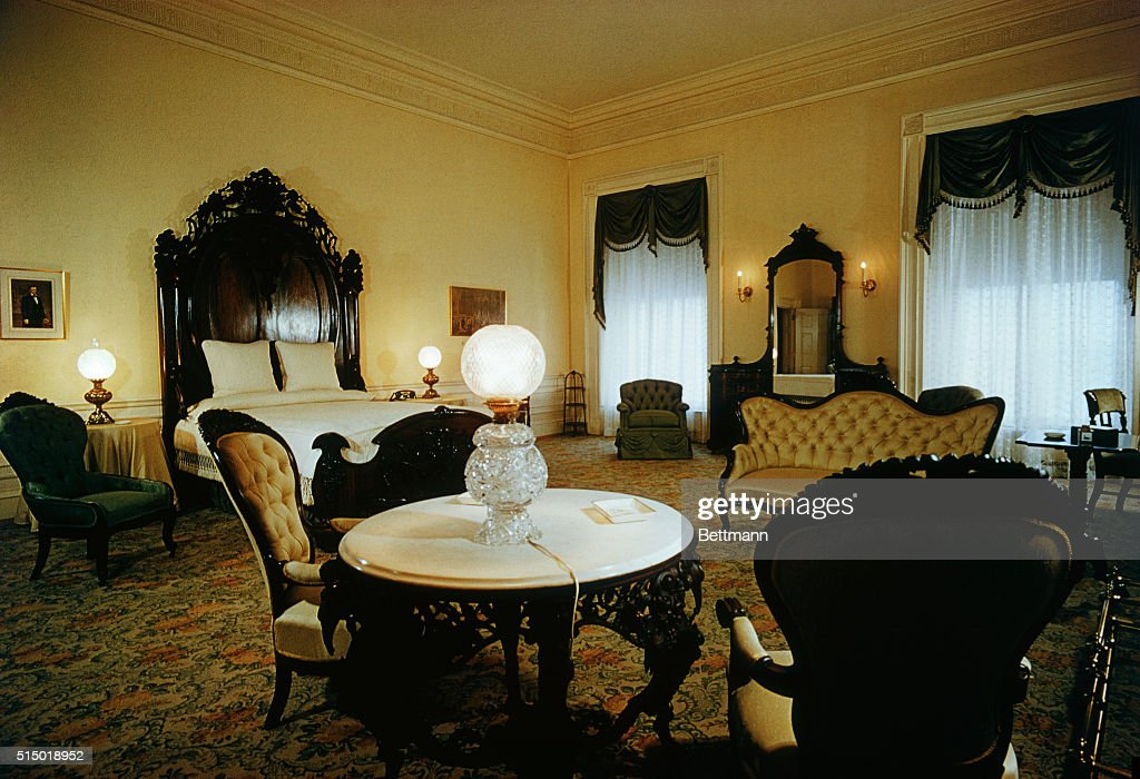 Lincoln Bedroom : News Photo