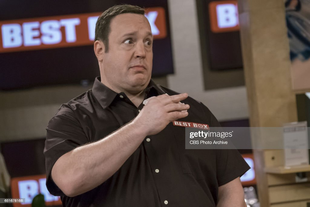 'Showroom Showdown' -- When Kevin and Chale get jobs working in the warehouse at an electronics store to help pay for the wedding, Chale's quick promotion to the sales floor kick-starts Kevin's competitive side, on KEVIN CAN WAIT, Monday, March 13 (8:00-8:30 PM, ET/PT) on the CBS Television Network. Pictured: Kevin James