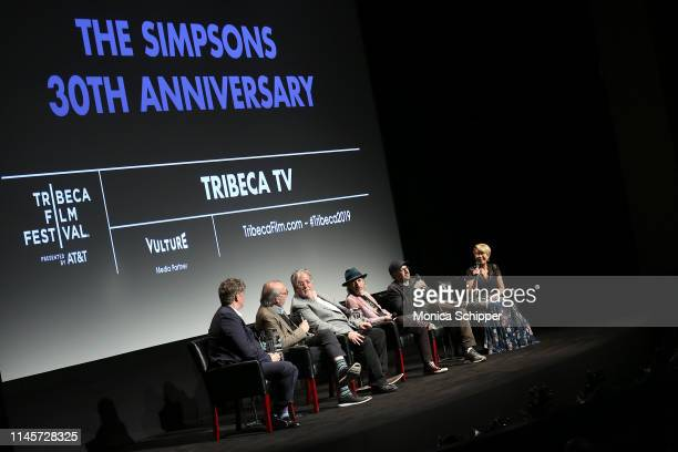 Showrunner and Executive Producer Al Jean, Executive Producer James L. Brooks, creator and Executive Producer Matt Groening, actor and voice of...