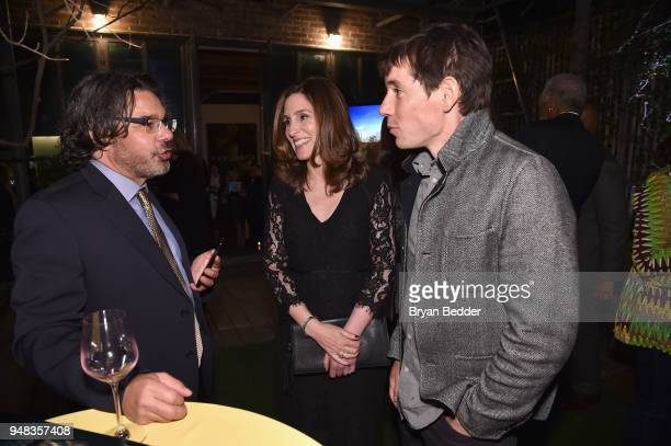 Showrunner and Executive Producer Ken Biller of 'Genius Picasso' EVP of Scripted Programming at National Geographic Global Networks Carolyn Bernstein...