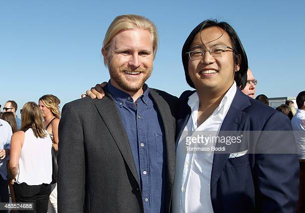 Showrunner Ben Waller and Producer/Creator/Writer Freddie Wong attend the Hulu 2015 Summer TCA Presentation at The Beverly Hilton Hotel on August 9...