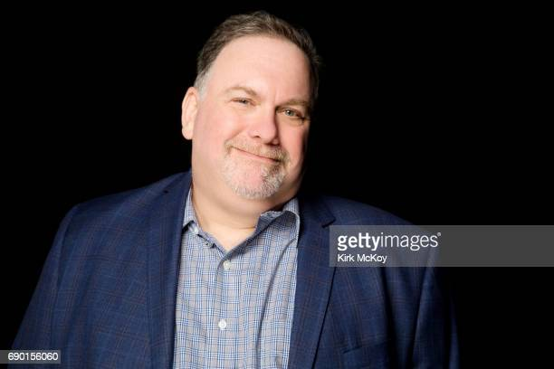 Showrunner Bruce Miller of Hulu's 'Handmaid's Tale' is photographed for Los Angeles Times on April 26 2017 in Los Angeles California PUBLISHED IMAGE...