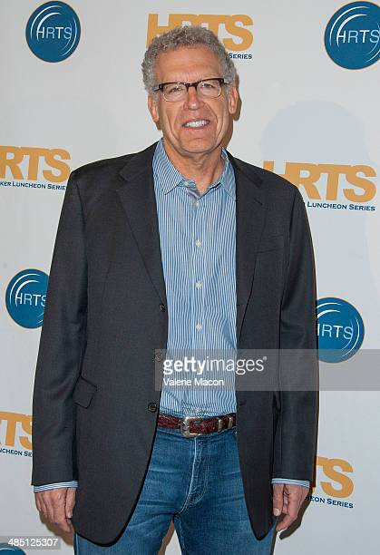 Showrunner Carlton Cuse arrives at the Hollywood Radio And Television Society Annual Hitmakers Panel at The Beverly Hilton Hotel on April 16 2014 in...