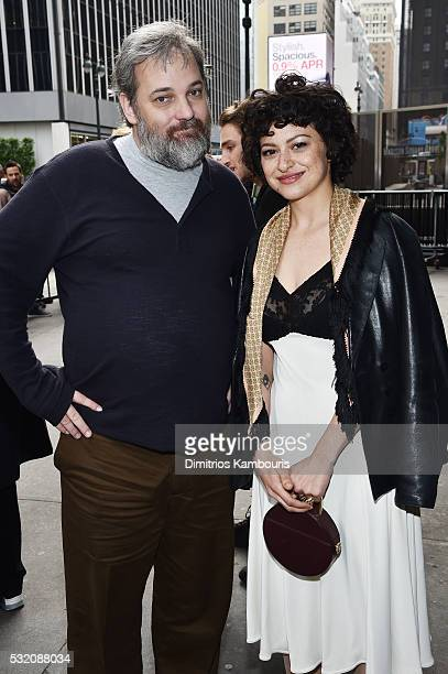 Showrunner Dan Harmon and actress Alia Shawkat attend the Turner Upfront 2016 green room at The Theater at Madison Square Garden on May 18 2016 in...
