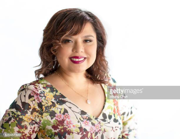 Showrunner for 'Gentefied', Linda Yvette Chávez is photographed for Los Angeles Times on May 27, 2021 in Culver City, California. PUBLISHED IMAGE....
